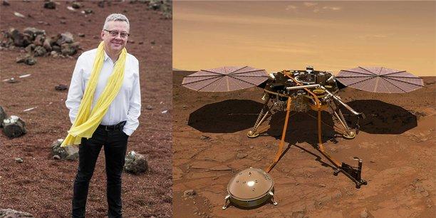 Philippe Laudet est le chef de projet SEIS au Cnes, le sismomètre de la mission d'exploration Insight.