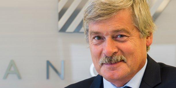 Pierre Chauvois, directeur général de la Banque Populaire du Sud