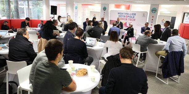 Philippe Saurel a expliqué, le 23 novembre, les nouvelles orientations de la French Tech à une cinquantaine d'acteurs de l'écosystème local
