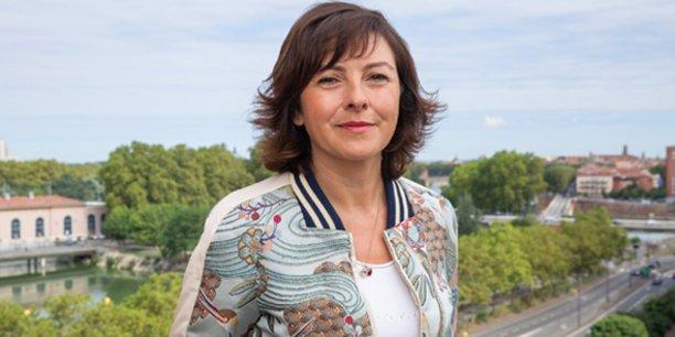 Carole Delga, présidente du Conseil régional Occitanie / Pyrénées-Méditerranée