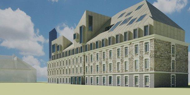 L'ESSCA ouvrira ses portes sur la rive droite avec un campus dimensionné pour un millier d'étudiants