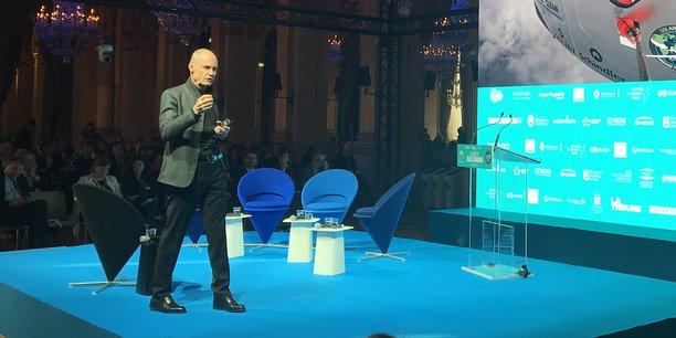 Bertrand Piccard, lors du Forum Smart City Paris.