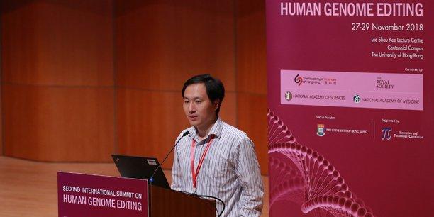 Le très critiqué He Jiankui responsable de l'expérimentation.