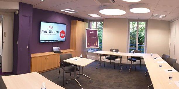 Chez Multiburo sont proposés un open space de coworking, des bureaux réservés et des salles de réunions (ici à Toulouse).
