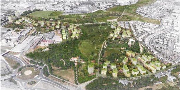 Pour la ZAC du Coteau à Montpellier, l'EPF d'Occitanie a réalisé 12 M€ d'acquisitions foncières.