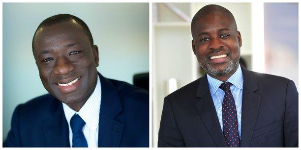 Mohamed Dembele (à gauche) et Mahi Kane.