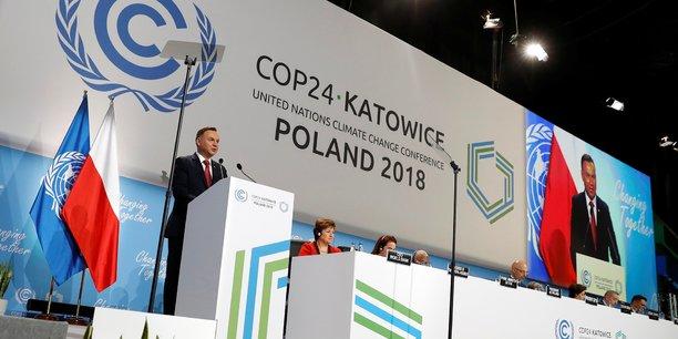 Le président polonais Andrzej Duda ouvre la COP24 à Katowice, le 3 décembre.