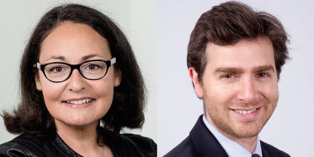 Emilie Avot, directrice conseil immobilier chez Deloitte France et David El Nouchi, cofondateur de ClubFunding.