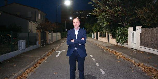 Yves Le Henaff, CEO de Kawantech, équipe plus de 600 lampadaires dans la Ville rose.