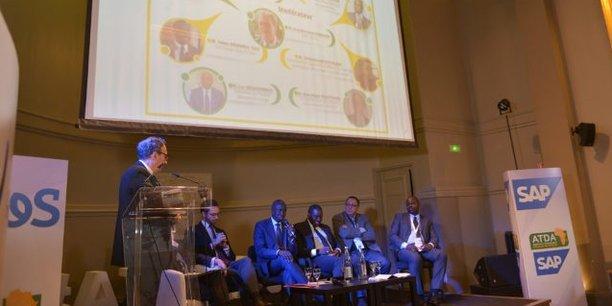 Lors des Assises de la transformation digitale en Afrique (ATDA), tenues les 22 et 23 novembre 2018 à Paris.
