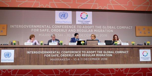 Pour la première fois de son histoire, la conférence internationale sur les migrations s'est donc tenue en Afrique et, en dépit de l'absence remarquée d'Emmanuel Macron, aux prises avec la crise des « gilets jaunes ».
