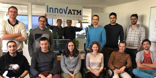 Innov'ATM emploie 20 salariés actuellement.