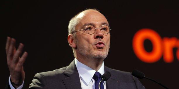 Stéphane Richard, le PDG de l'opérateur historique Orange.
