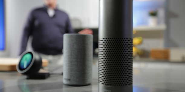 Amazon a un coup d'avance grâce à l'intégration du compte Amazon Prime avec son IA Alexa, à qui il suffit d'énumérer sa liste de courses pour que les achats soient déclenchés, payés et livrés.