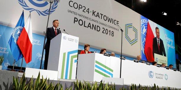 Après deux semaines de négociations, la 24e Conférence de l'ONU sur le climat, qui a joué les prolongation un jour supplémentaire, s'est achevée samedi à Katowice (Pologne).