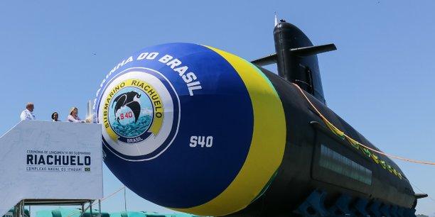 Lancement du sous-marin brésilien : la France étrangement absente