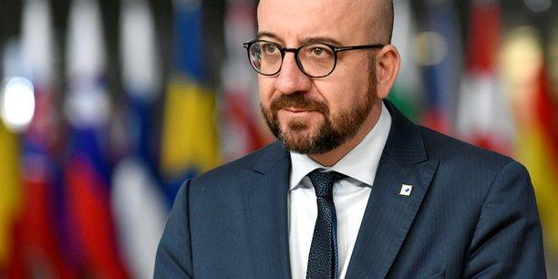 Le président du Conseil européen, Charles Michel