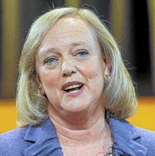Meg Whitman, PDG de HP - Copyright Reuters