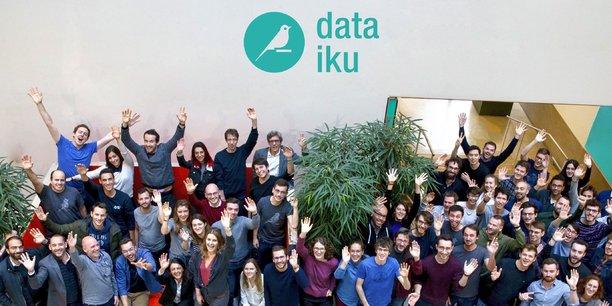 La startup française Dataiku, spécialisée dans l'analyse des mégadonnées pour les entreprises, a annoncé ce mercredi lever 101 millions de dollars (environ 88 millions d'euros) en série C auprès d'Iconiq Capital, Firstmark Capital, Battery Ventures, Alven Capital et Dawn Capital.