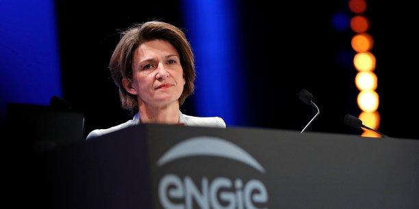 La directrice générale d'Engie, Isabelle Kocher, plaide pour une transition énergétique compétitive