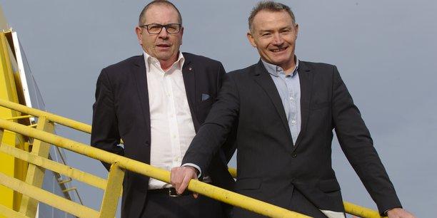 Philippe Magaldi et Jean-Luc Longeroche, cofondateurs de Geps Techno.