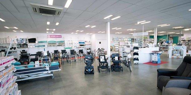 Bastide Médical, spécialisé dans le maintien à domicile, réalise 88,3 M€ de son activité sur son réseau de points de vente.