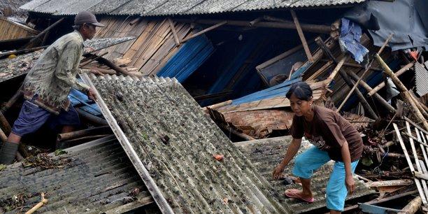 L'Anak Krakatoa est entré en éruption samedi soir peu après 21 heure soit 24 minutes avant que le tsunami ne frappe les côtes indonésienne.
