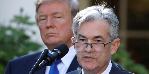 Jerome Powell a été nommé en février dernier président de la Réserve fédérale américaine par Donald Trump, en remplacement de Janet Yellen.