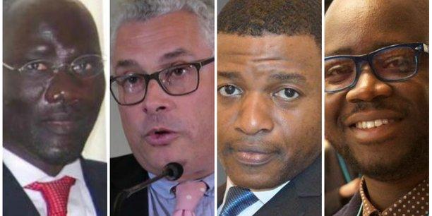 De gauche à droite, Mamadou Ibrahima Fall, Emmanuel Dupuy, Guy Gweth et Régis Hounkpè, vous livrent leur sélection de faits ayant marqué 2018 et pouvant déterminer la trajectoire de l'Afrique en 2019.