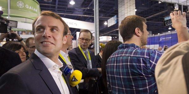 Emmanuel Macron, alors en pleine campagne présidentielle, avait fait en personne le déplacement en 2017 au CES de Las Vegas, pour bénéficier de l'image alors positive de la startup nation.