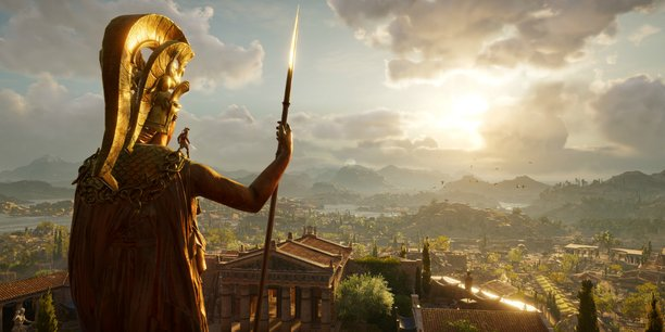 Zelda : breath of the wild, Red Dead Redemption II ou, ici, Assassin's Creed : Odyssey utilisent des briques d'intelligence artificielle pour concevoir d'immenses mondes ouverts et cohérents.
