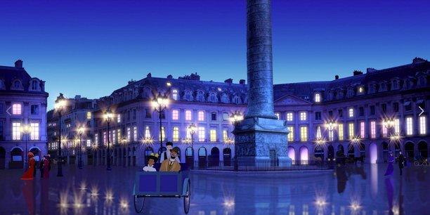 Une scène de Dilili à Paris, nouveau film d'animation de Michel Ocelot