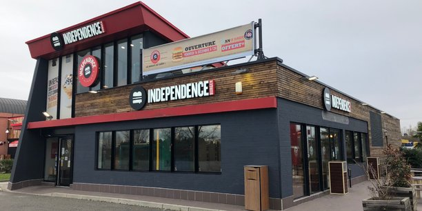 Le nouveau restaurant Independence Burger de Roques-sur-Garonne.