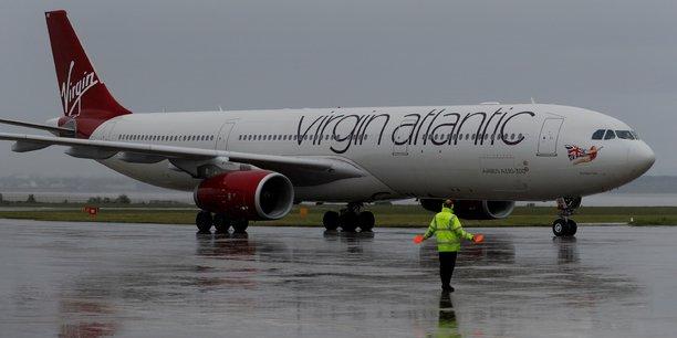 Virgin atlantic pres d'un accord pour reprendre flybe[reuters.com]