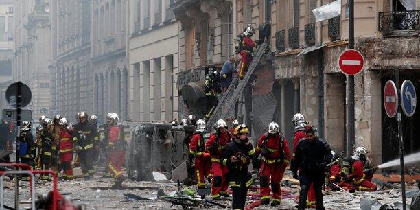 Un élu parisien met en accusation l'état du réseau de gaz  suite à l'explosion survenue samedi 12 janvier Rue de Trévise à Paris (9ème arrondissement).