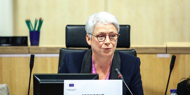 Isabelle Boudineau est la présidente de la commission sur la cohésion des territoires et le budget européen du Comité des régions.