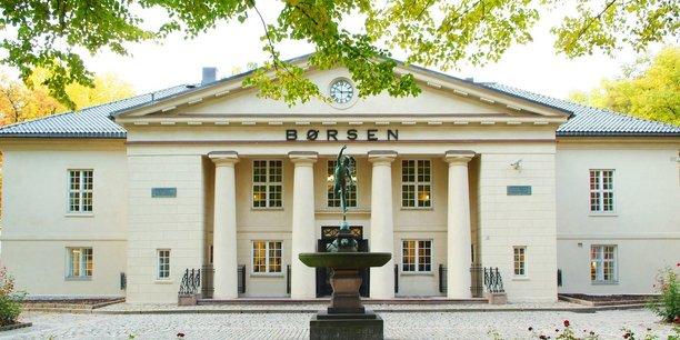 La Bourse d'Oslo.
