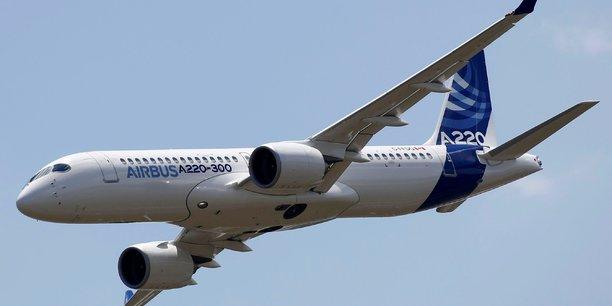 Airbus vise des reductions de couts substantielles pour l'a220[reuters.com]