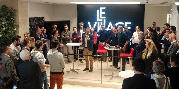 Douze nouvelles startups rejoignent pour deux ans le Village by CA, place des Quinconces, à Bordeaux.