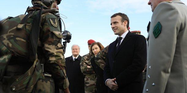 Emmanuel Macron s'était notamment rendu à Toulouse à l'occasion de ses voeux aux forces armées, en début d'année 2019.