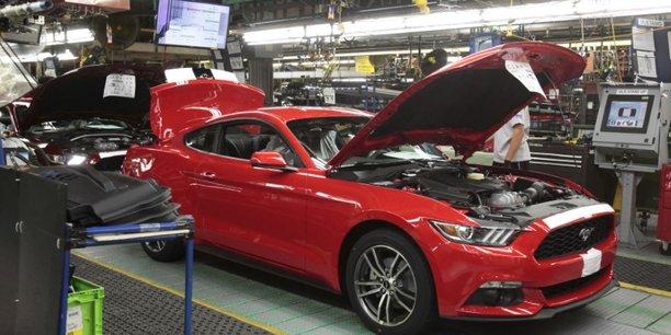 Usa: plus forte hausse de la production manufacturiere en 10 ans[reuters.com]