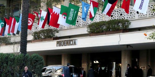 Un sommet arabe sans chefs d'etat au liban, la syrie divise[reuters.com]