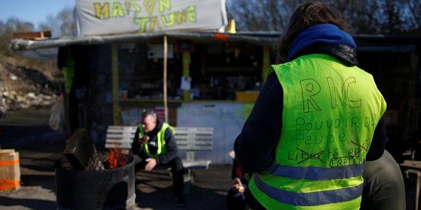 Des gilets jaunes lors de la première journée de manifestation, le 17 novembre.