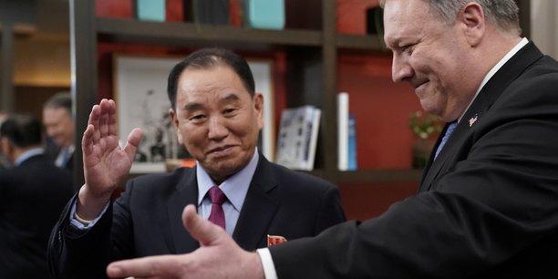 L'emissaire de pyongyang recu par mike pompeo a washington[reuters.com]