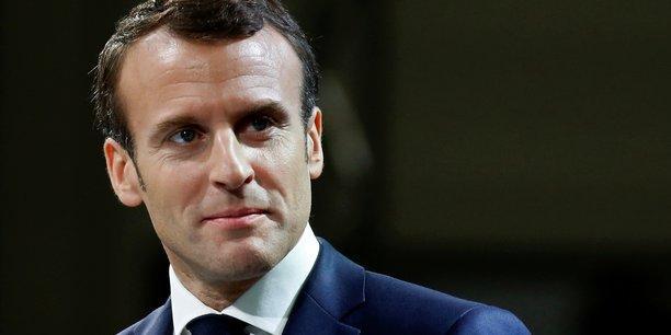 Le président Emmanuel Macron a vanté les mérites de la France et tenté de rassurer les investisseurs étrangers.