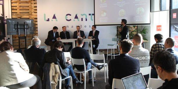 Au préalable du lancement de l'expérimentation de la 5G à Nantes, une table ronde a permis à une cinquantaine d'acteurs économiques de se faire une idée des capacités de la 5G, testées dans la métropole.