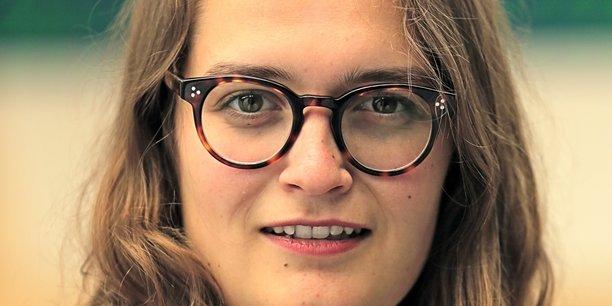 Svenia Busson, fondatrice de l'accélérateur de startups LearnSpace.