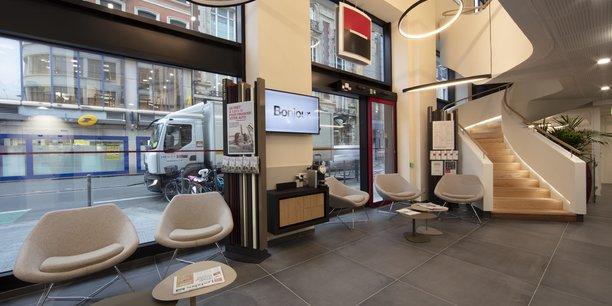 La nouvelle agence rue Nationale à 100 mètres de la Grand'Place de Lille.