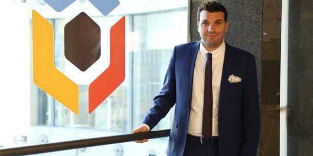 Jonathan Cherki, fondateur et Pdg de ContentSquare, pépite française spécialisée dans l'analyse prédictive du comportement client.