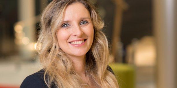 Claire Calmejane, directrice de l'innovation du groupe Société Générale et membre du comité de direction.